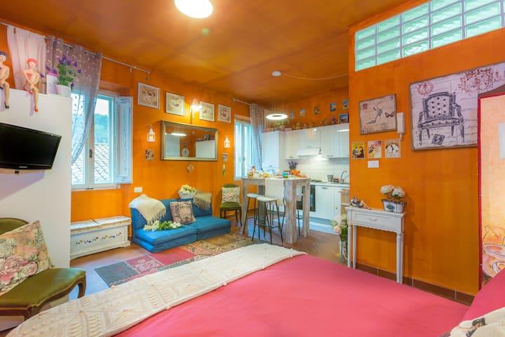 Studio Provençal style - Soriano Nel Cimino - Apartemen