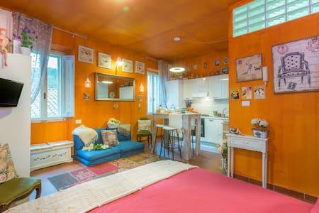 Studio Provençal style - Soriano Nel Cimino - Apartament