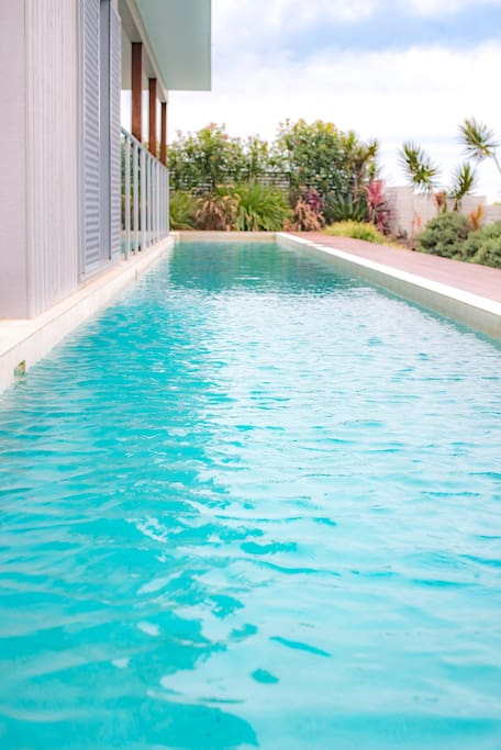 25m Lap Pool Shared with Top Half of House