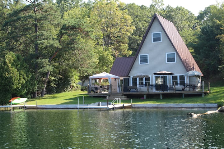 Greenville Lakefront Home