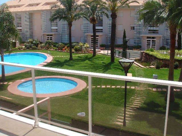 Golden Gardens Javea Arenal wifi - Platja de l'Arenal - Leilighet