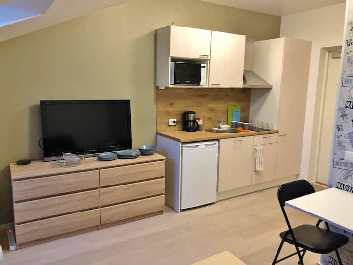 New apartment next to St. Petersburg highway