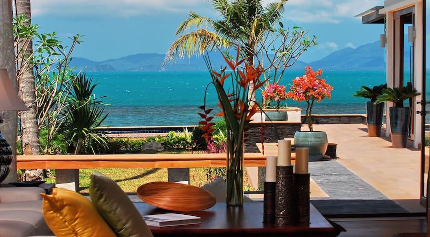 4 Bedroom Beach Front Villa Lotus - Ko Samui - Villa