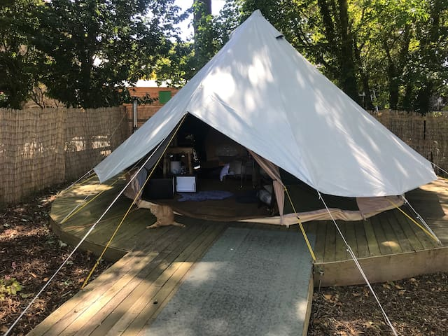 Bell Tent Glamping on Anglesey