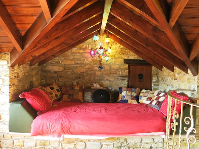 Stylish Cosy and Spiritual - Agia Anna - Hus