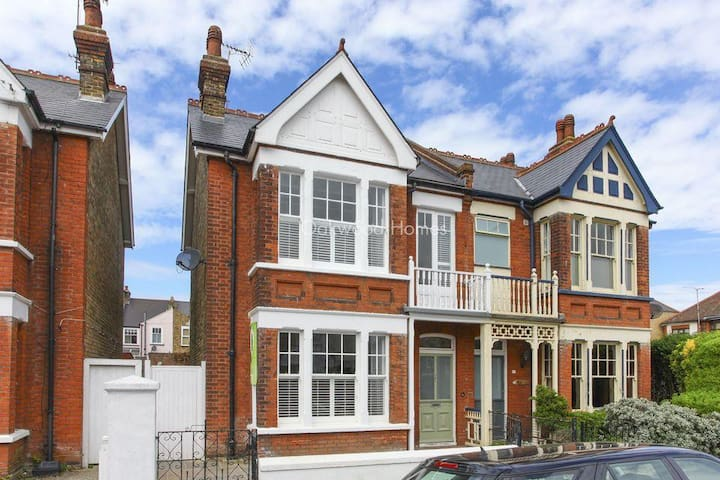 Victorian House in Beautiful Broadstairs - Broadstairs - Talo