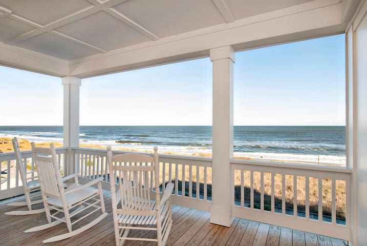Burpeau Unit A-Treat your family to this premier oceanfront duplex close to the pier