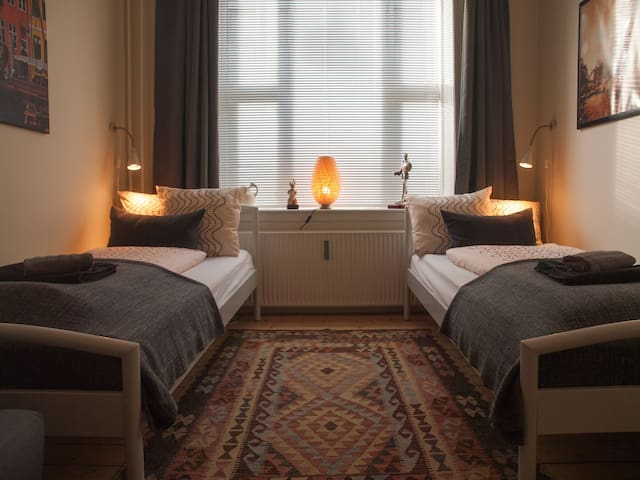 A unique room in central Copenhagen