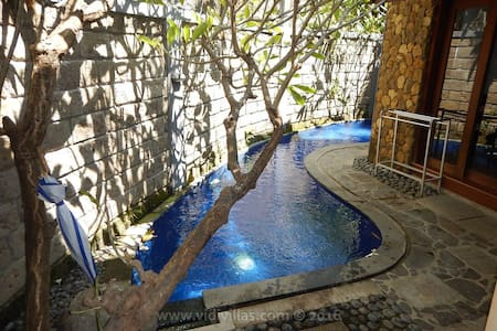 Vidi Villa #4 with swimming pool and 1 bedroom - Sukawati - Villa