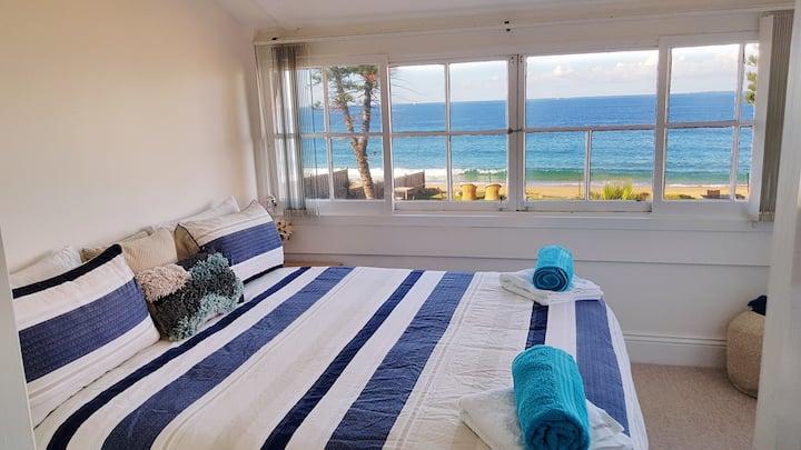 Direct beachfront sunrise apartment; Apt 8