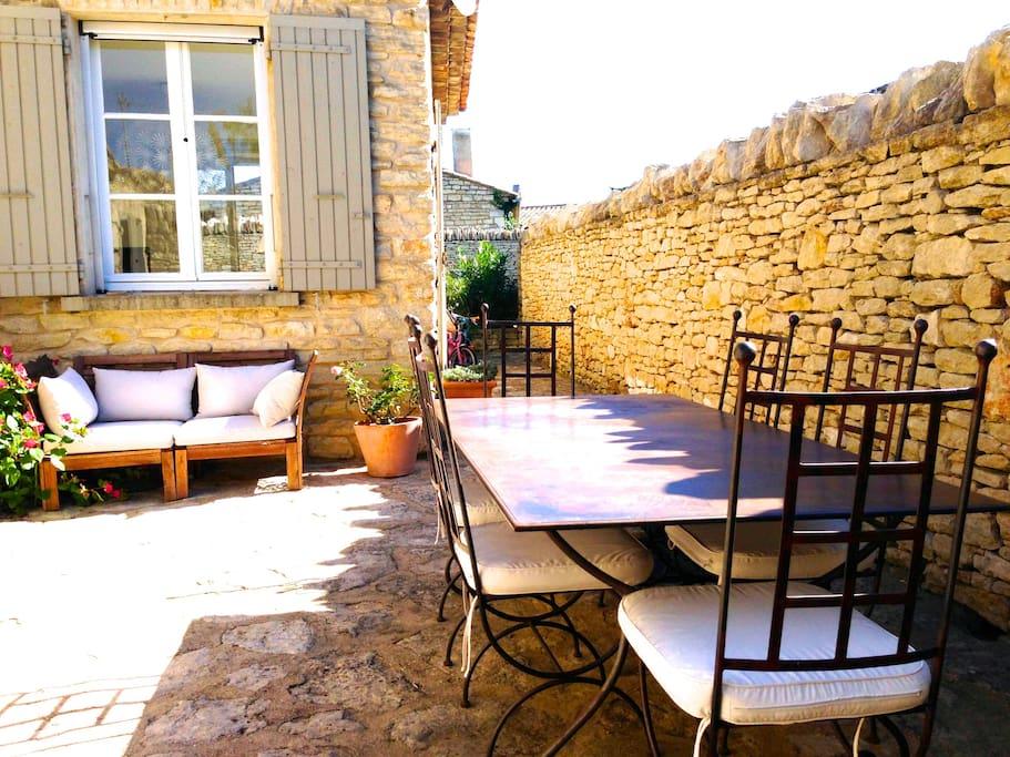 Courtyard Cour extérieure