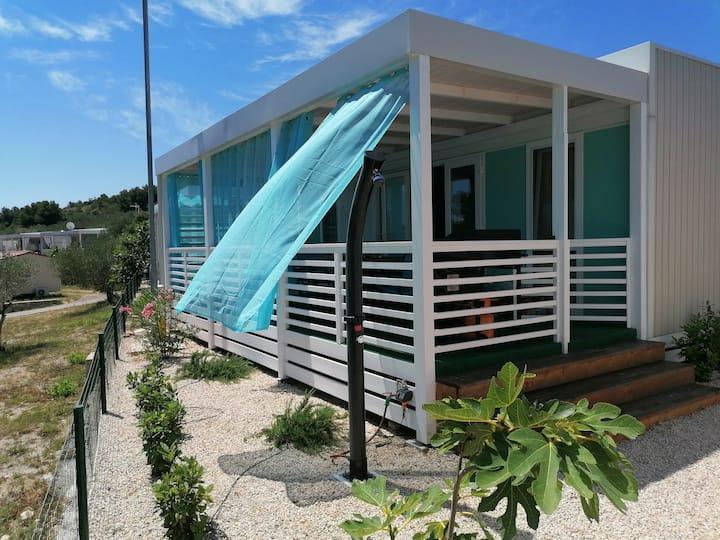 White-Pearl Mobile-Home   Eine Oase der Ruhe