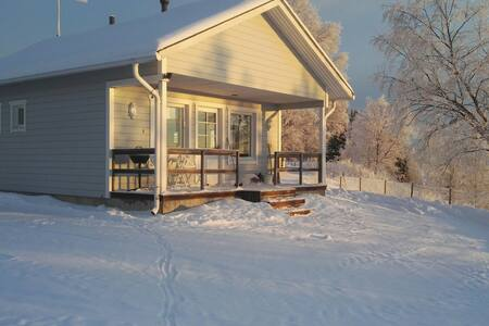 cottage,finland,lapland