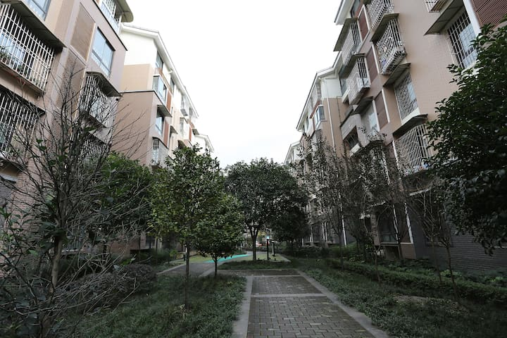 位于一环路以内,青幽的观凤新区的友好型公寓 - Chengdu Shi - Apartemen