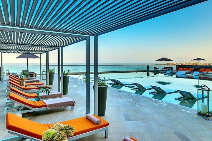 Apartmento frente a la playa...MORROSCITY-2704