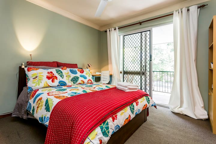 Dbl Treetop view - Brisbane Bayside - Brighton - House