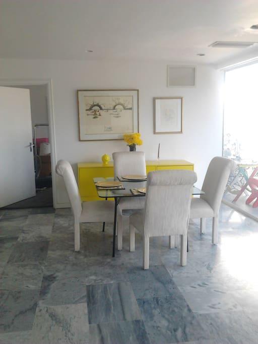 Informal Dining area