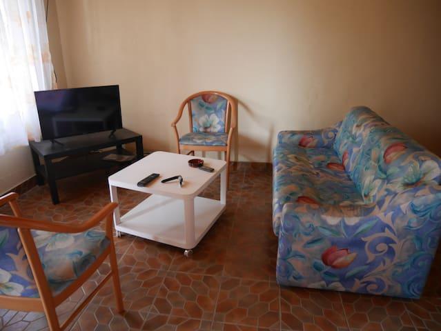Studio calme dans belle résidence à Yassa/Nkolbong