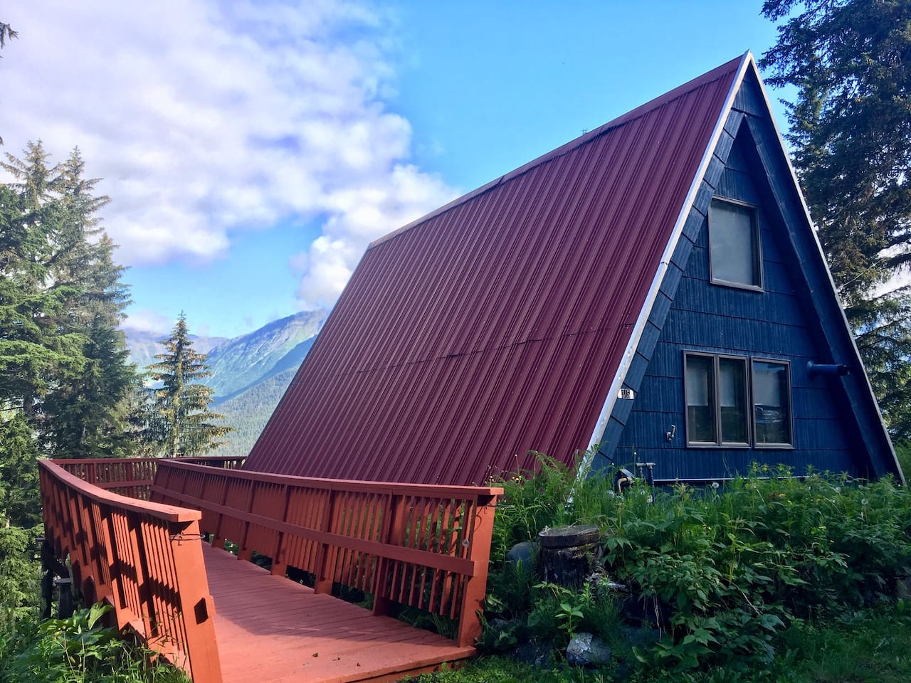 Girdwood View A-Frame - Houses for Rent in Anchorage, Alaska, United ...