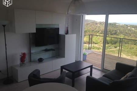 Appartement neuf avec terrasse et jardin à Chiatra - Chiatra - Apartment