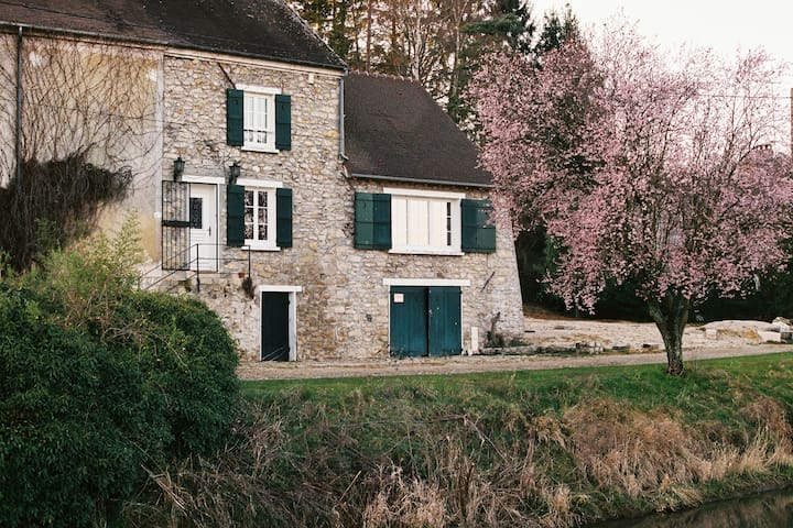 La maison de l'Ourcq - May-en-Multien - Penzion (B&B)