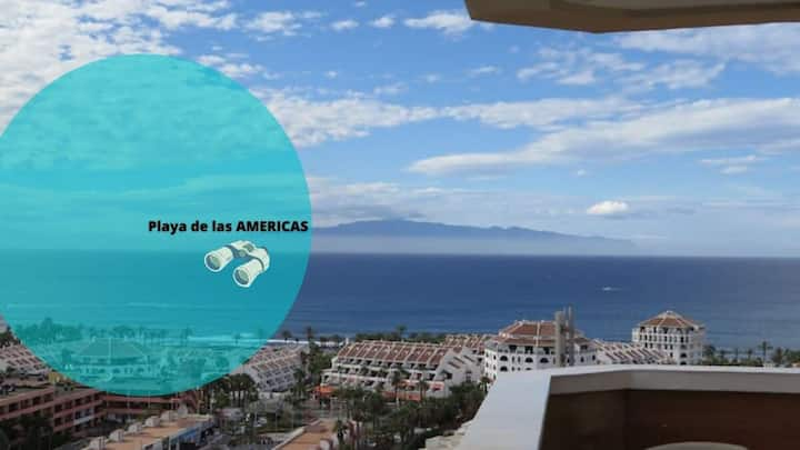 GO2TENERIFE Apart'Vista AMAZING sea view & Pool