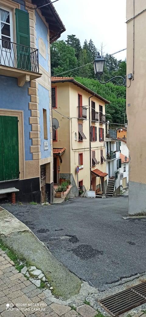 U FUNTANIN nel centro storico di Torriglia,