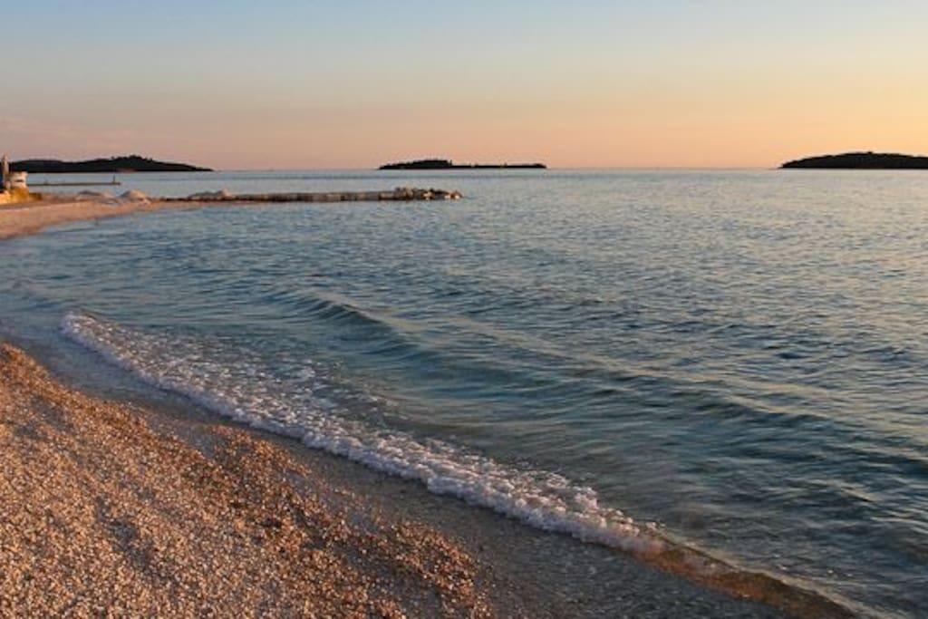 Strand von Fazana | 5 min zu Fuß vom Haus entfernt