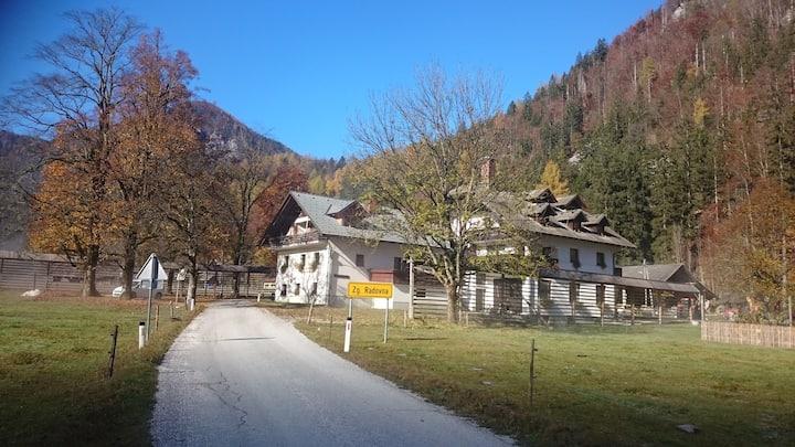 Apartment on farm in Triglav national park