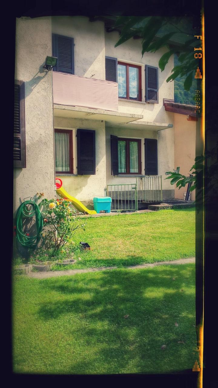 Appartamento con giardino ideale per famiglie