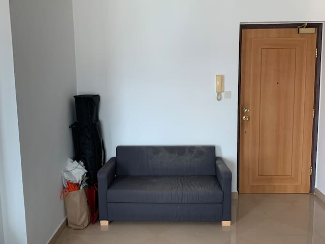 A homey condominium