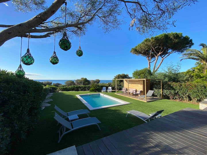 Villa entière rénovée - Très belle Vue Mer