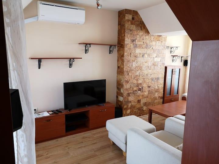 A two bedroom maisonette in central Plovdiv