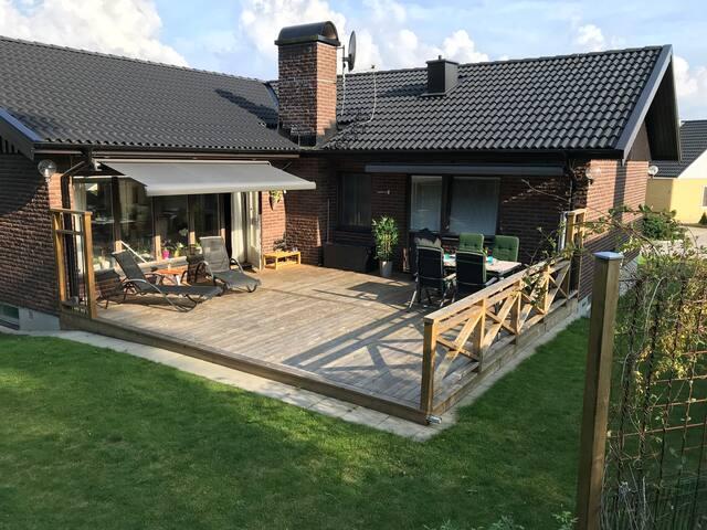 Villa för 8+, 200kvm, centralt Kungsbacka