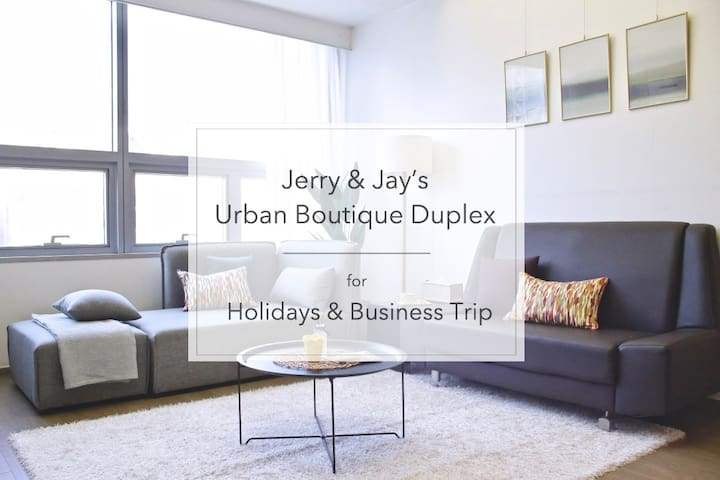 ★Gangnam Station in 1 min★Jerry and Jay's Duplex★