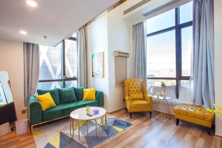 星海广场loft欧式旅游度假屋 月租优惠