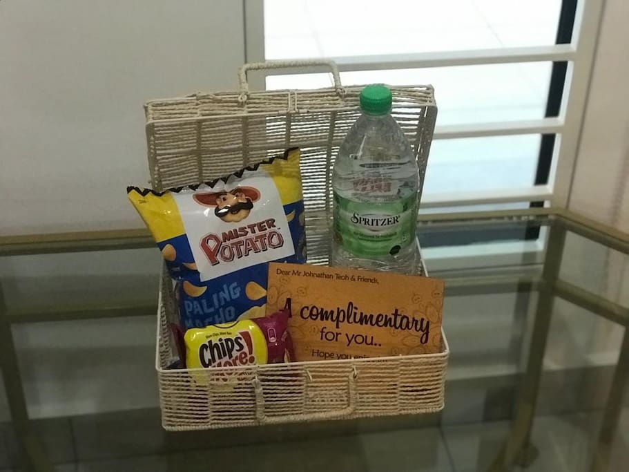 Complimentary from us!  Except the basket hehee...