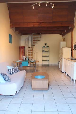 Studio Mezzanine 34 m² proche  de la mer - Vic-la-Gardiole - Apartmen