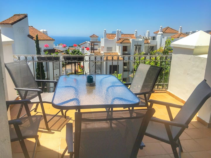 Luxury 2 beds 2 baths apartment Sea View Alcaidesa