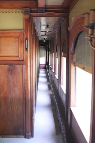"The Pullman Train Car ""Constitution"""