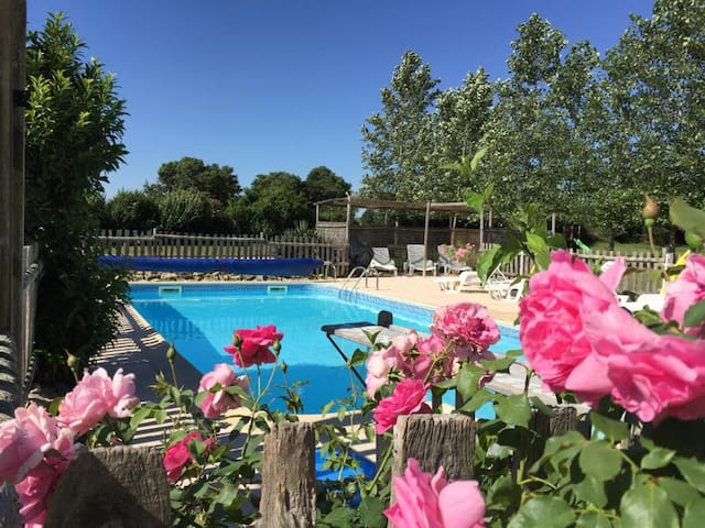 La Vigne -2 Bedroom Gite with Onsite Swimming Pool