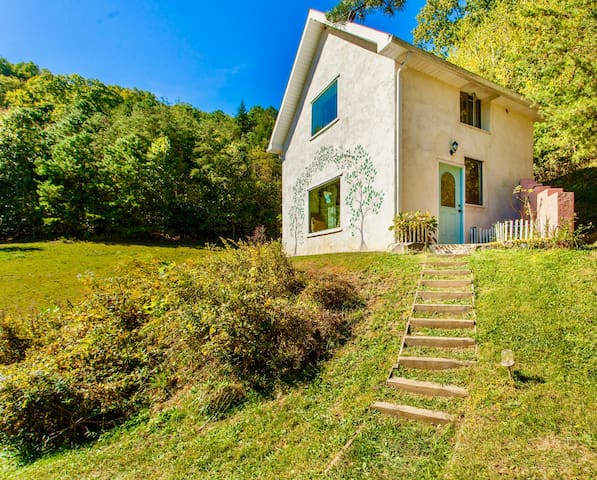Asheville Area Private Cottage! Stunning Views!