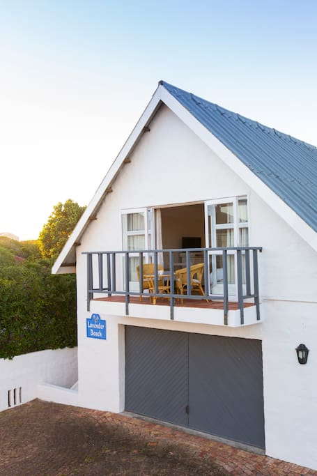 The Loft is  situated on top of the double garage (sleeps 1 to 3)