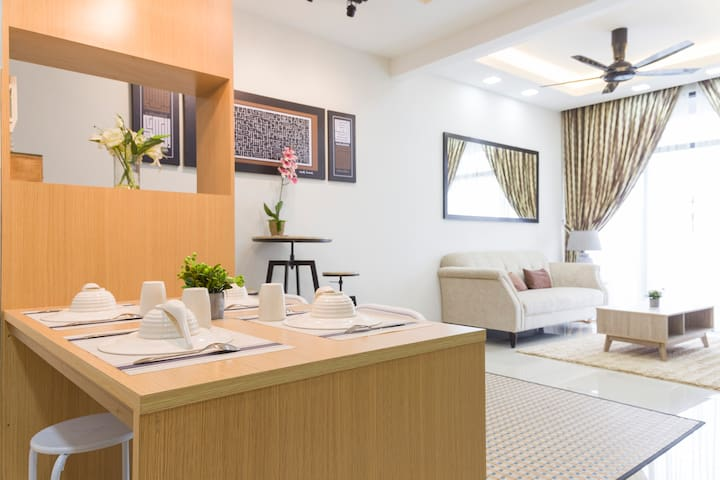 Relaxing Suite @Greenfield Condo, Kota Kinabalu
