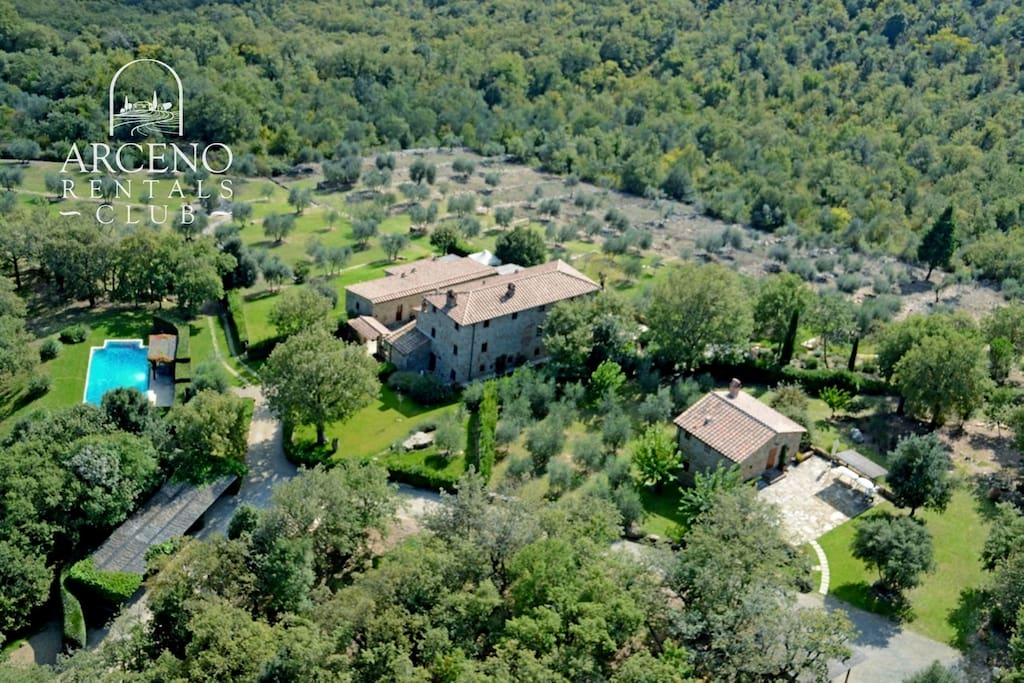 A Birds Eye View of Villa Casanova