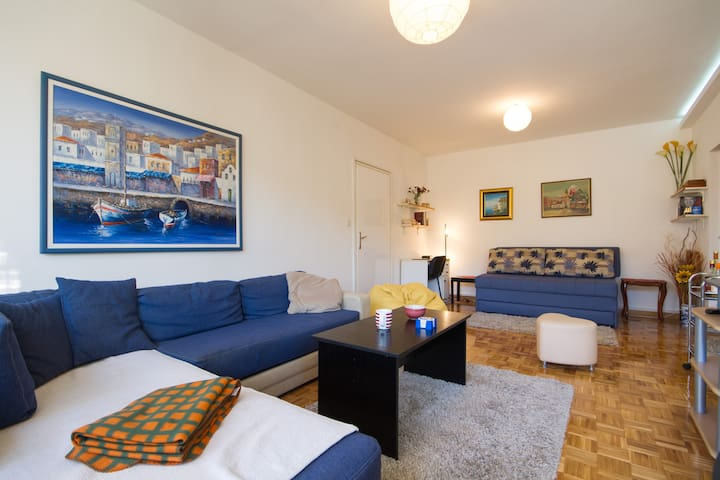 Danube Imaginarium, parking, ac - Belgrado - Appartement