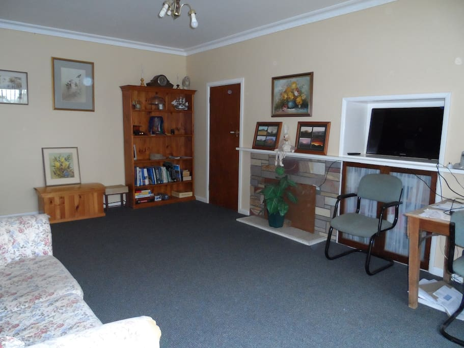 Your own private living room with it's own entrance!