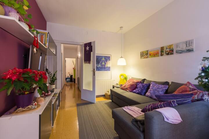 Cómoda habitación en Gracia - Barcelona