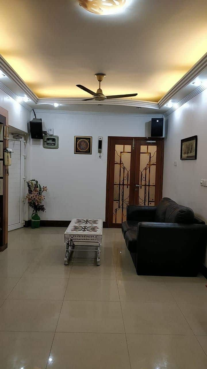 3 Bedroom Furnished Apartment with Home theater.
