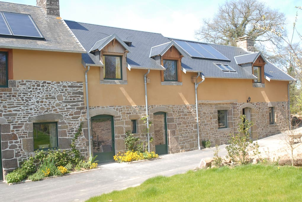 Hamel aubert g te chouette nature lodges for rent in for Lodges in france